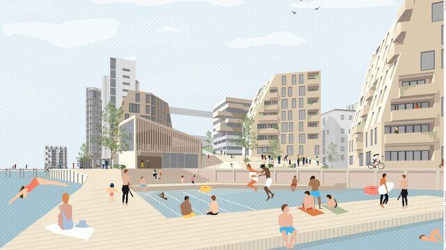 Hegrenset, slik det er tegnet da Bergen kommune mottok planene før jul.