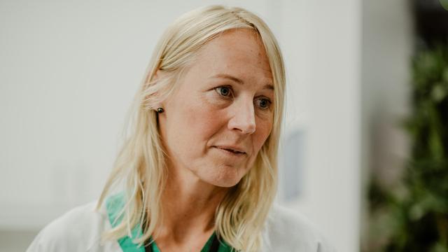 Fungerende legevaktsjef Annette Corydon