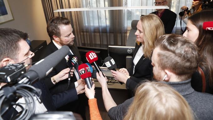 TEK OVER NAV-SKANDALEN: Torbjørn Røe Isaksen (H) tek ove arbeids- og sosialministerposten frå Anniken Hauglie (H) som går av.
