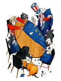 Frykt og kaos i Vesten