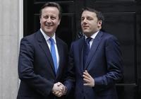 EU, da: Renzi tar en Cameron