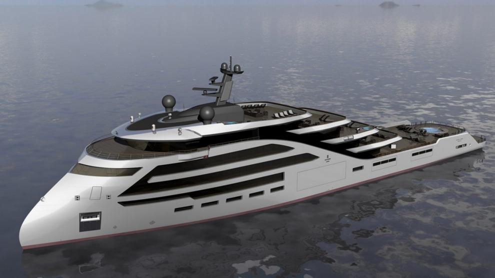 Art Line Yacht Design : Ulstein verft skal bygge luksusyacht båt næringsliv e