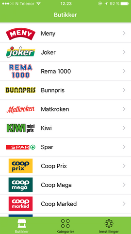 f638bc7b Samler tilbudene fra matvarekjedene i én app: Har 200.000 brukere i ...