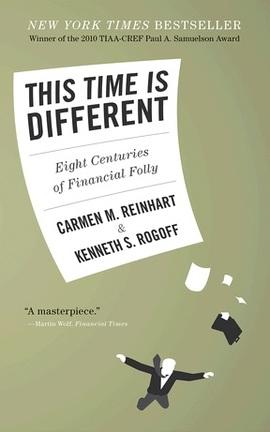 <p><b>TIDLIGERE KRISER:</b> «Denne gangen er annerledes», det har vært et refreng i de fleste finanskriser de siste 800 årene, ifølge boken «This time is different» av Carmen Reinhart ogKenneth Rogoff.</p>