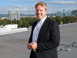 <p>Konsernsjef Eivind Helgaker i Ice</p>
