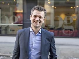 <p><b>INSPIRERT</b>: Vipps-sjef Rune Garborg lar seg inspirere av nye konkurrenter som utfordrer i det norske markedet.</p>