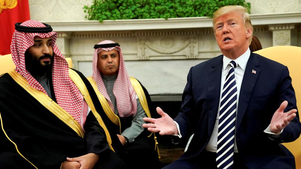 <p><b>GODE RELASJONER:</b>Forholdet mellom USA og Saudi-Arabia har vært utsatt for store prøvelser både under oljekrisen i 1973 og etter 11. september 2001, men relasjonen er fortsatt sterk, ifølge professor Dag Harald Claes ved Universitetet i Oslo. Her er USAs president Donald Trump sammen med Saudi-Arabias kronprins Mohammed bin Salman i Det hvite hus i mars.</p>