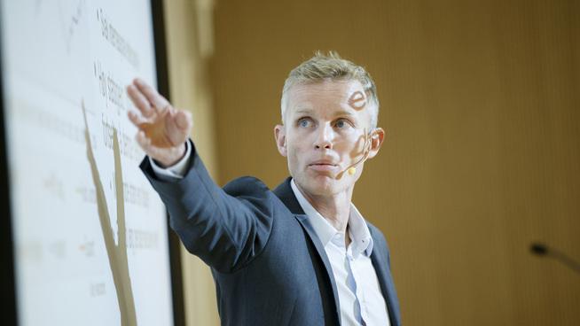 <p>Sjeføkonom Andreas Benedictow i Samfunnsøkonomisk analyse.</p>