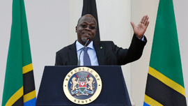 <p>Tanzanias president John Magufuli.</p>