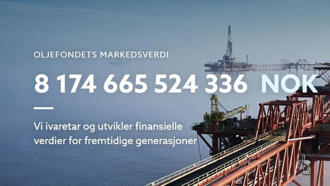 <p><b>I HØYDEN:</b> Kroneverdien av Oljefondet var høy 20. juni i år.</p>