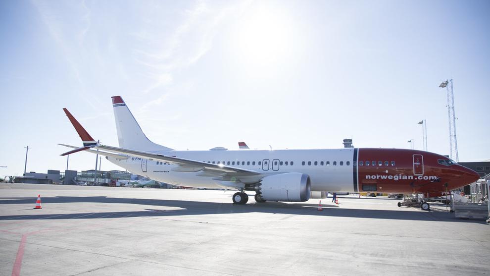 <p><b>KORT AFFÆRE:</b> Norwegian mottok sitt første Boeing 737 Max8-fly i juni 2017, men allerede ett år etter er det klart at flere av USA-rutene flyet har blitt brukt til skal legges ned. De avanserte flyene settes nå inn på Europa-ruter.</p>