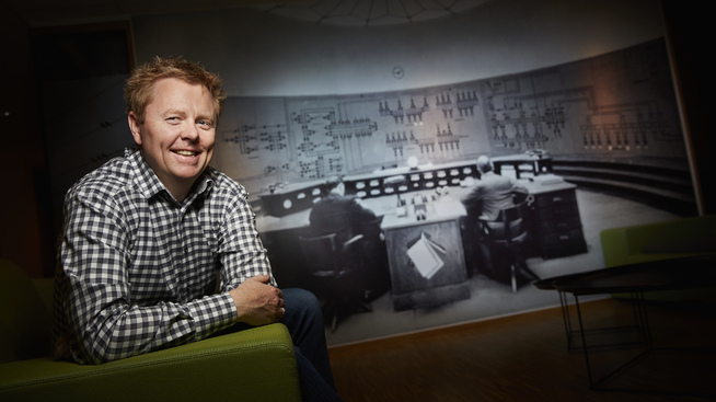 <p>VIKTIG: Morten Småstuen tror innovasjon innad i kraftselskapene har blitt stadig viktigere.</p>