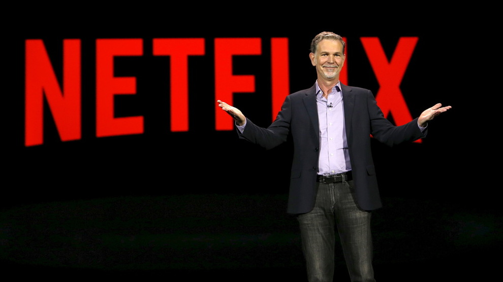 <p><b>NETFLIX:</b> Reed Hastings, medgrunnlegger og toppsjef i strømmegiganten.</p>