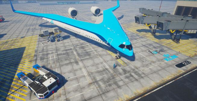 <p><b>MODERNE:</b> Designet der passasjerer, drivstoffstanker og last integreres i vingene, skal gjøre flyet lettere og mer aerodynamisk.</p>
