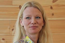 <p><b>– HØRES MYE UT:</b> Sjeføkonom Kari Due-Andresen i Handelsbanken Capital Markets</p>