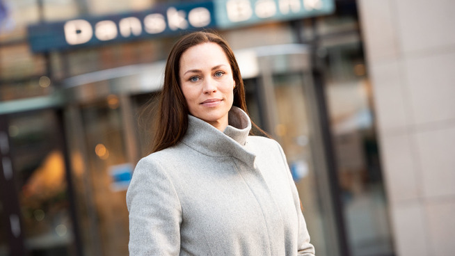 <p><b>SAVNER HARDERE SKYTS</b>: Forbrukerøkonom Cecilie Tvedenstrand i Danske Bank.</p>