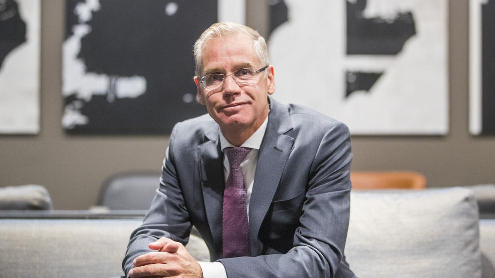 <p>KONKURRENT: SAS-sjef Rickard Gustafson ønsker Norwegian lykke til fremover.</p>