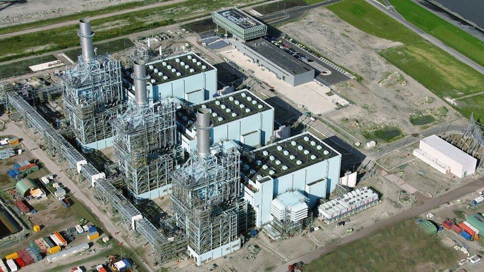 <p><b>KAN KOBLES TIL NORGE:</b> Vattenfalls gasskraftverk Magnum, Nederland.</p>