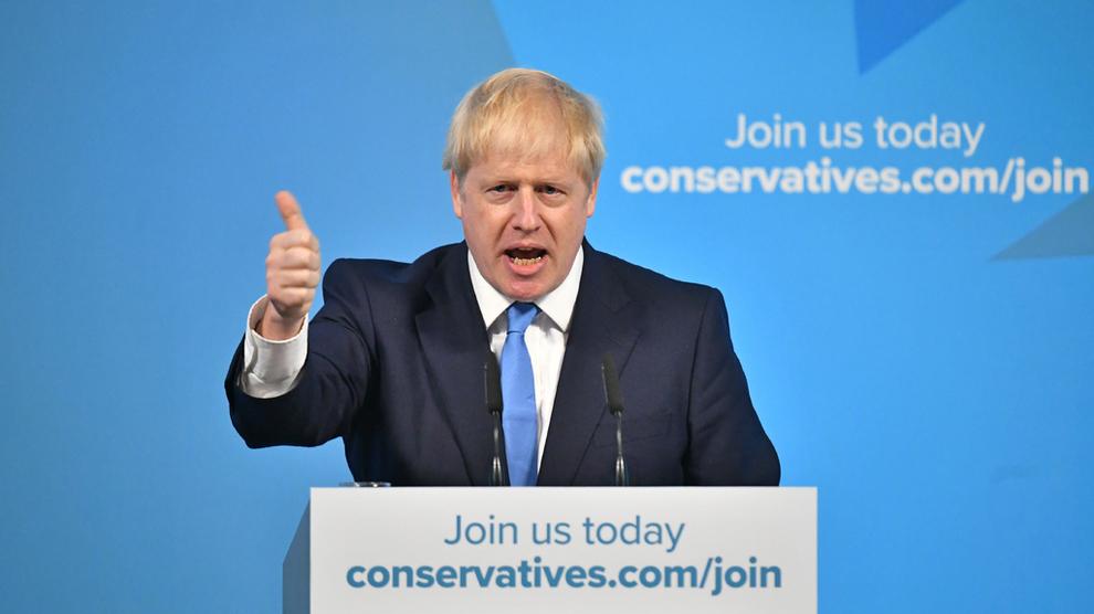 <p>TOMMEL OPP: I talen etter han ble valgt som ny leder av Det konservative partiet, sa Boris Johnson at han var optimistisk for Storbritannias fremtid – med eller uten en avtale med EU.</p>