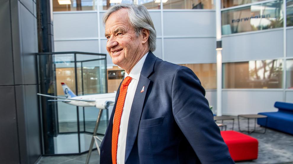 Bjørn Kjos i Norwegian. Foto: Helge Mikalsen VG