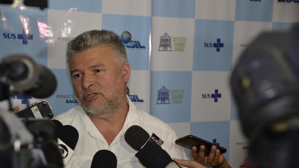 <p><b>NY RAPPORT:</b> Evandro Chagas-instituttet, her ved forsker Marcelo Lima, skrev den første rapporten som beskyldte Hydro for å ha forurenset drikkevannet i Barcarena med rødslam. Snart gir instituttet ut sin andre rapport: Bevisene er flere, men konklusjonen er den samme, ifølge Lima.</p>
