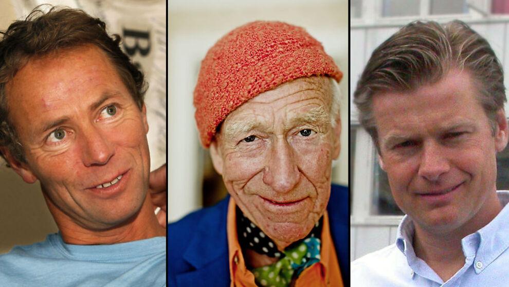<p>MILLIARDÆRER: Ivar Erik Tollefsen, Olav Thon og Edgar Haugen er alle gode for milliarder.</p>