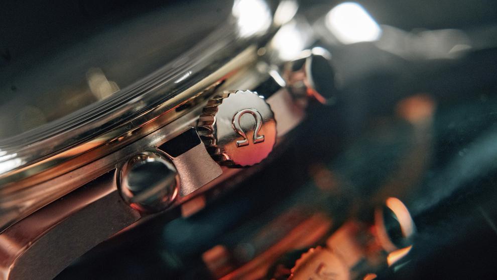 <p><b>ETTERTRAKTET KLOKKE:</b> Omega slipper limited edition-versjoner av Speedmaster for å markere 50-årsjubileet.</p>