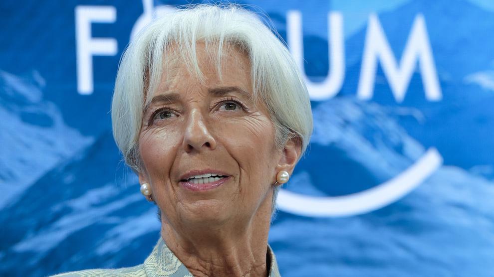 <p><b>NY ROLLE:</b> Franske Christine Lagarde er nominert til å overta som president for Den europeiske sentralbanken (ESB). Hun går dermed av som sjef for Det internasjonale pengefondet (IMF).</p>