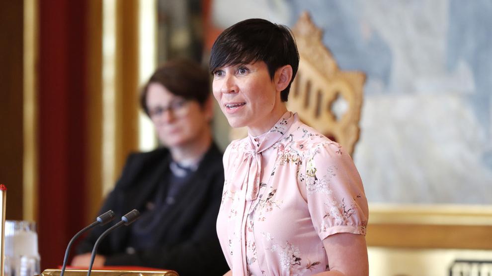 <p>Utenriksminister Ine Eriksen Søreide (H) mener det vil være positivt for norsk økonomi med en frihandelsavtale med Kina.</p>