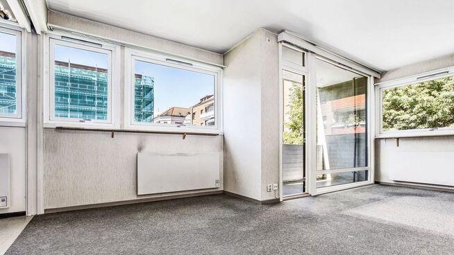 <p>Megleren skriver i annonsen at «leiligheten fremstår som et godt oppussingsobjekt».</p>