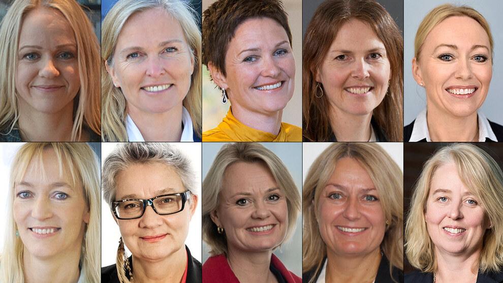 Her er Norges 50 fremste teknologikvinner - Jobb - E24