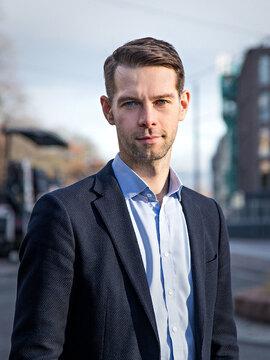 <p>Markedsdirektør i BankAxept, Vegar W. Heir.</p>