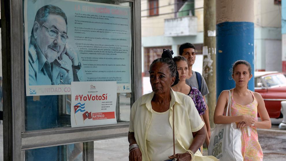 <p><b>#JEGSTEMMERJA:</b> Myndighetene kjører på med kampanjer for å få folk til å stemme ja til grunnlovsendringene på Cuba.</p>