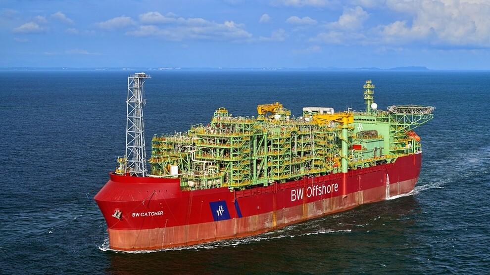 <p><b>SPER PÅ MED KINESISKE PENGER:</b> BW Offshores FPSO (flytende produksjonsenhet) «BW Catcher» skal i drift på Catcher-feltet til Premier Oil på britisk sokkel. FPSOen delfinansieres nå med kinesiske penger.</p>