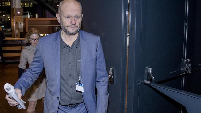 <p><b>PÅ PLASS:</b> Stein Lier-Hansen i Norsk Industri på NHOs årskonferanse i Oslo Spektrum torsdag. Det grønne skiftet var årets tema.</p>
