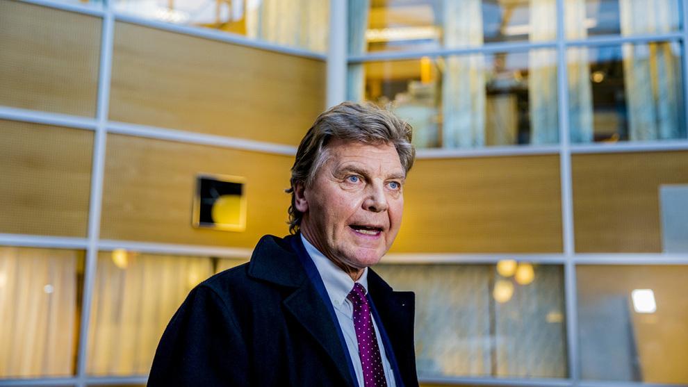 <p><b>TREKKER SEG:</b> Bjørn Kise trekker seg som styreleder i Norwegian Finans Holdning.</p>