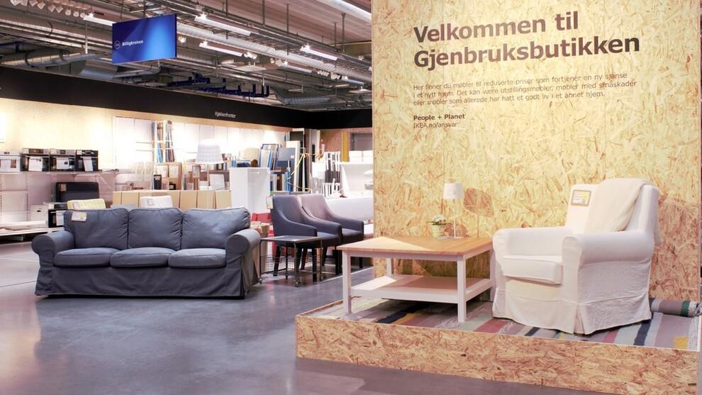 Strålende Ikea starter gjenbruksbutikk – kjøper tilbake gamle møbler - Ikea MN-66