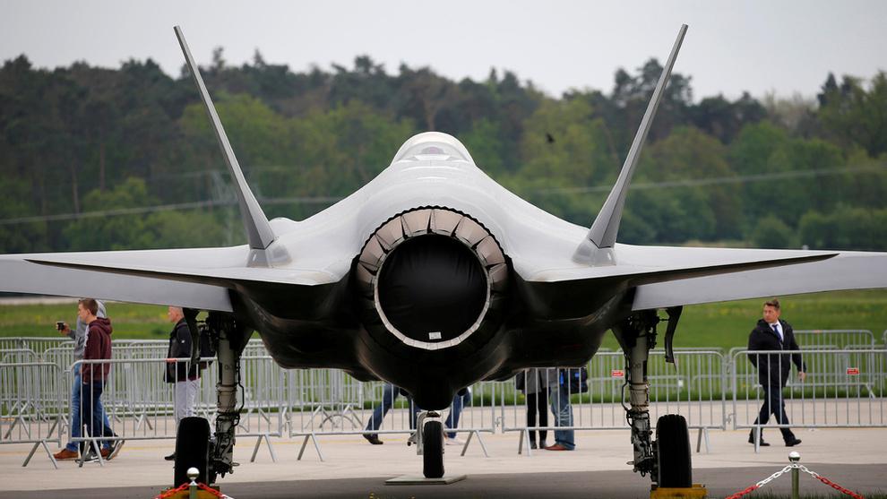<p>Lockheed Martins F-35</p>