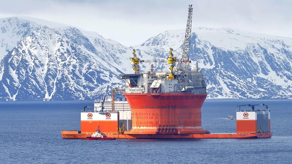 <p><b>GOLIAT:</b> Denne gigantriggen er kanskje det Sevan Marine er mest kjent for.</p>