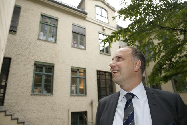 <p><b>MEGLERSJEFEN:</b> Christian V. Dreyer i Eiendom Norge mener boligprisene vil fortsette å stige.</p>