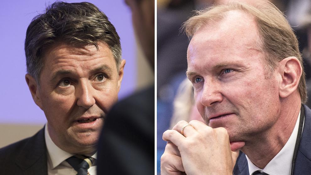 <p>Geir Karlsen og Niels Smedegaard</p>