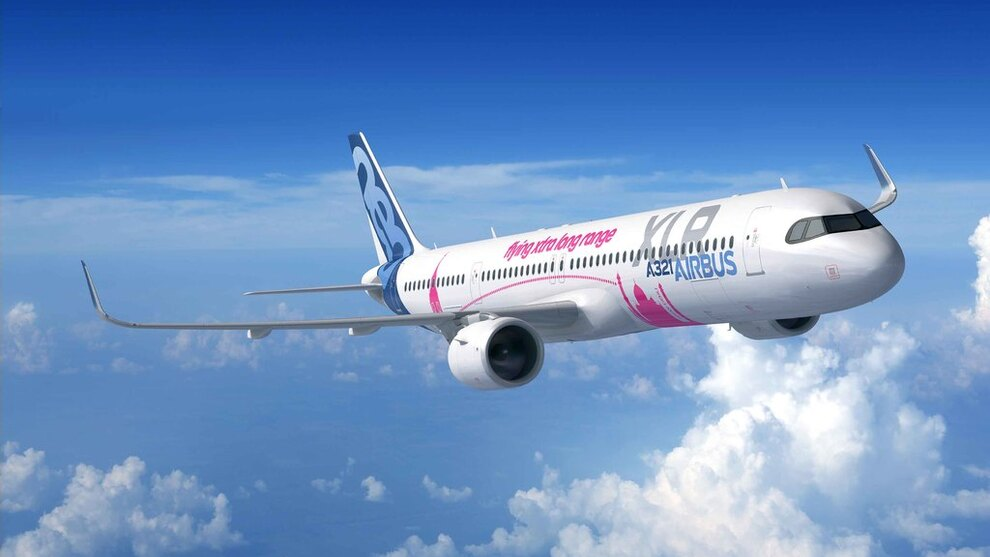 Airbus A321XLR ble offisielt lansert i forbindelse med Paris Air Show juni 2019