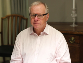 <p><b>TAKKER AV:</b> Göran Jansson har vært finansdirektør i SAS i over 20 år. Tirsdag leverte han sin siste kvartalsrapport før han går over i jobben som strategidirektør i selskapet. – Det har blitt en del kvartalsrapporter gjennom årene, humrer Jansson på telefon med E24.</p>