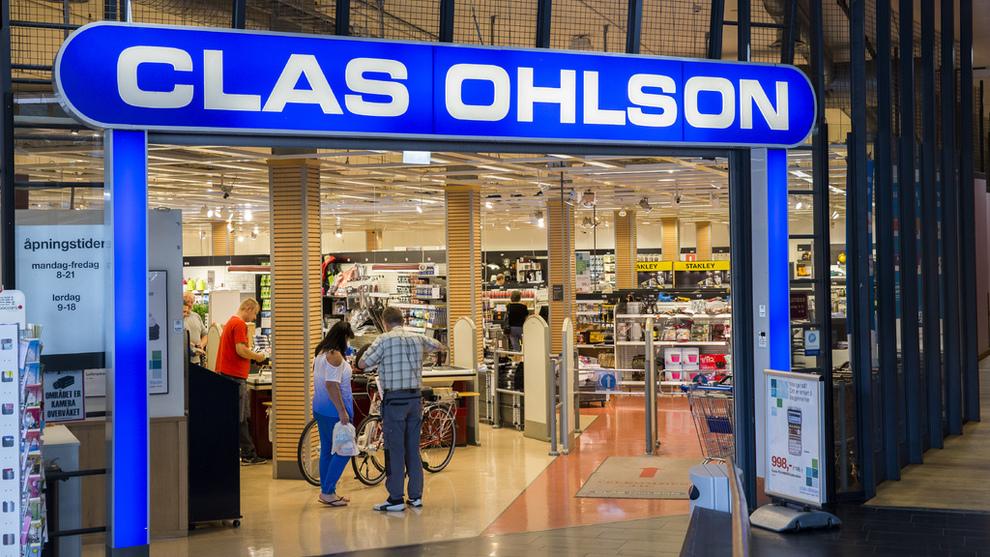 Fantastisk Clas Ohlson raser nedover børsen etter kostnadssmell - Stockholm SM-18