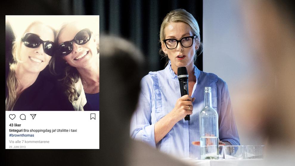 <p><b>ANSATTE VENNINNEN:</b> Yvonne Fosser (innfelt, til høyre) fikk jobben som HR-direktør i Innovasjon Norge av Anita Krohn Traaseth i 2015.</p>