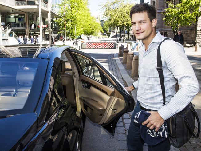 <p><b>PÅ TOPP:</b> Sjef for Uber Norge, Carl Edvard Endresen.</p>