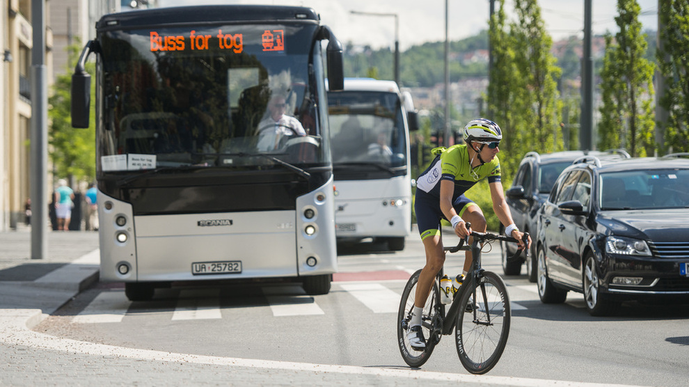 <p><b>FLERE DROPPER:</b> Over en tredel av Oslos husholdninger har ikke egen bil.</p>
