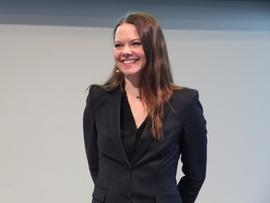 Letedirektør Evy Glørstad-Clark i Aker BP