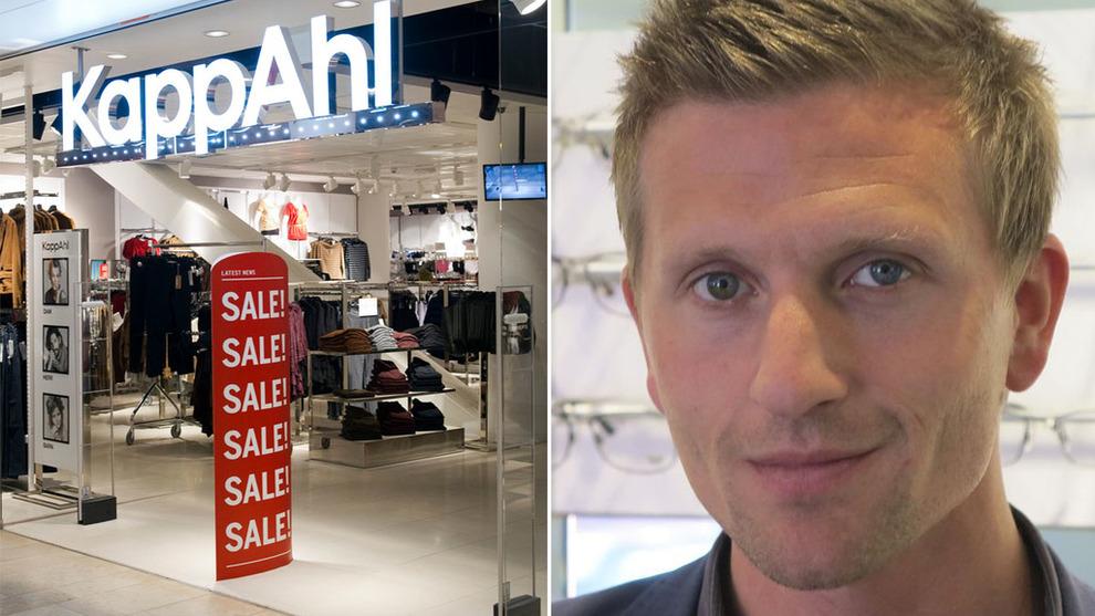 <p><b>MILLIARDBUD:</b>Mellby Gård vil kjøpe Kappahl med et bud som verdsetter selskapet til 1,4 milliarder kroner. TIl høyre er Johan Andersson, som er sjef i Mellby gård.</p>