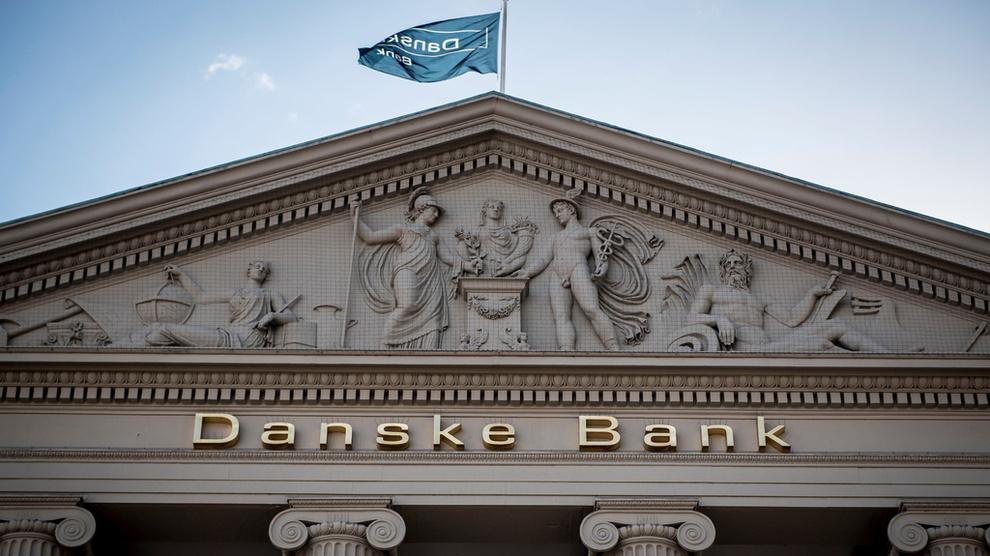 <p><b>TØFT ÅR:</b> 2018 har vært et svært vanskelig år for den danske storbanken.</p>